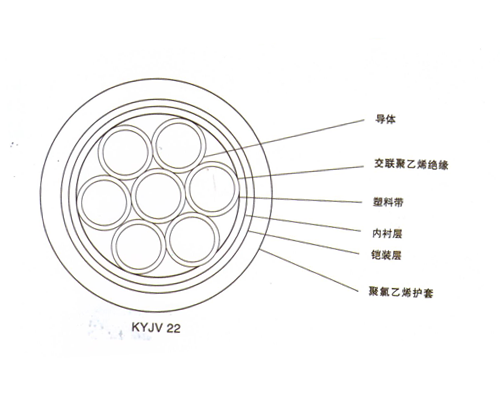 交联聚乙烯绝缘控制电缆